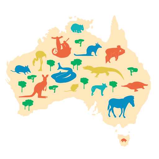 Australia illustration Transparent PNG