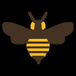 Bienenwespenflügel stechen Streifensymbol