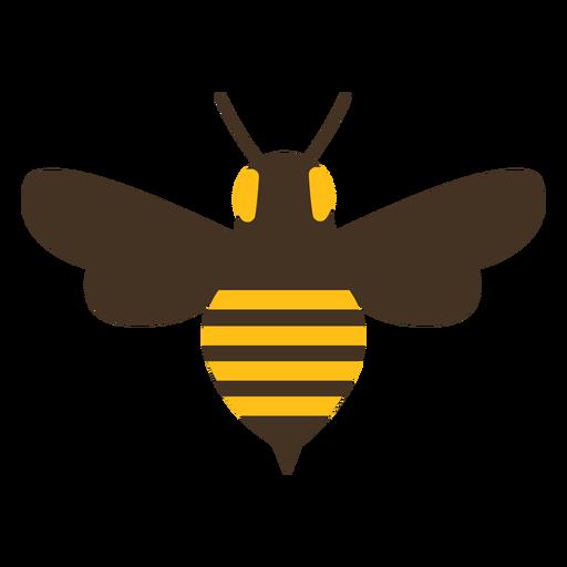 Ícone de listra de picada de asa de vespa de abelha Transparent PNG
