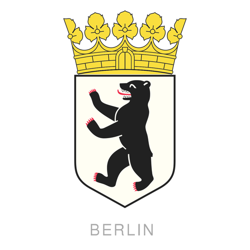 Berlin crest Transparent PNG