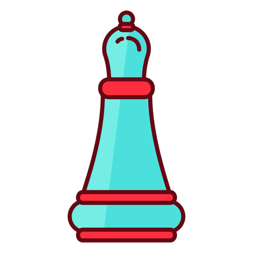 Bishop chess flat Transparent PNG