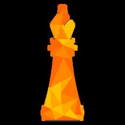 Bishop xadrez baixo poli