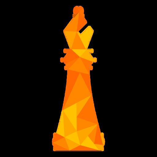 Bishop xadrez baixo poli Transparent PNG