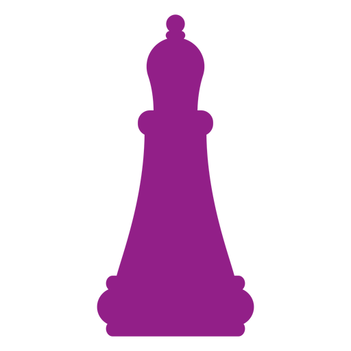 Bishop chess silhouette Transparent PNG