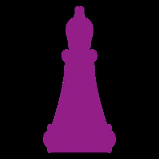 Silhueta de xadrez bispo Transparent PNG