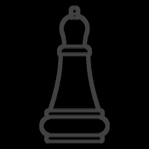 Bishop chess stroke Transparent PNG