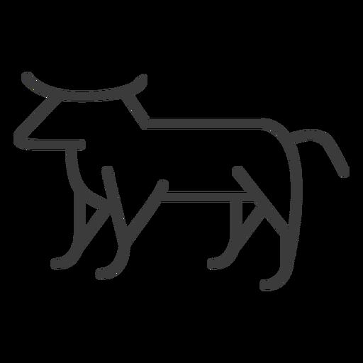 Touro vaca chifre de gordura isis gado golpe Transparent PNG