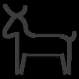 Touro vaca chifre gado cauda traço da divindade