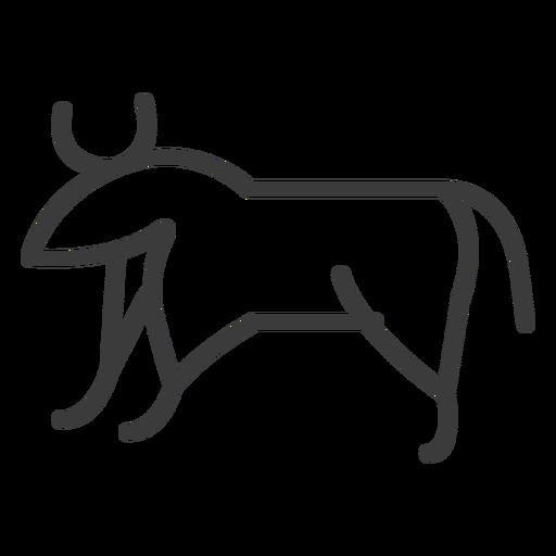 Touro vaca chifre isis gordo golpe de gado Transparent PNG