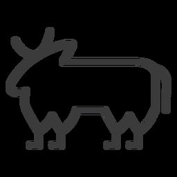 Bull cow isis buchis stroke