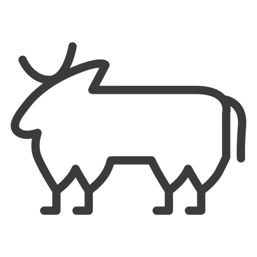 Touro vaca isis buchis acidente vascular cerebral Transparent PNG