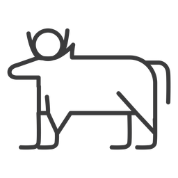 Touro vaca isis sol chifre divindade acidente vascular cerebral