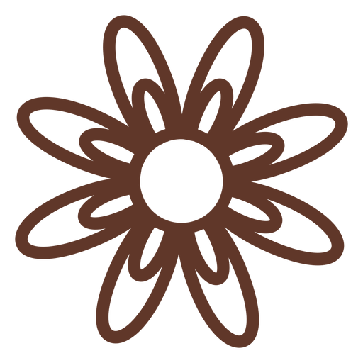 Pétala de flor de camomila Transparent PNG