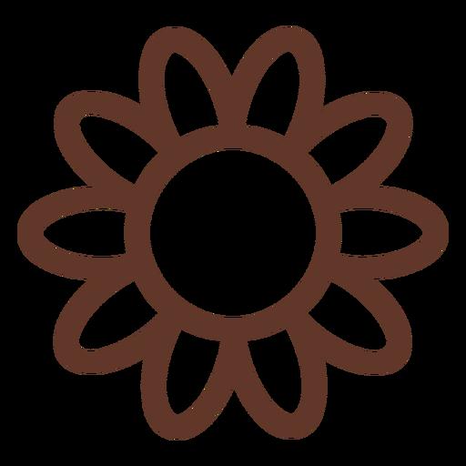 Camomila flor girassol pétala áster acidente vascular cerebral Transparent PNG