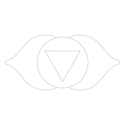 Chakra ajna ícone