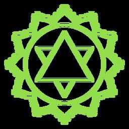 Chakra anahata ícone