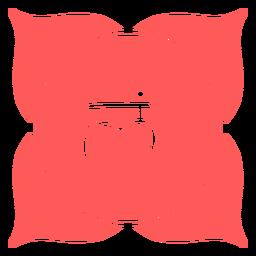 Icono de chakra muladhara