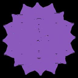 Icono de chakra sahasrara