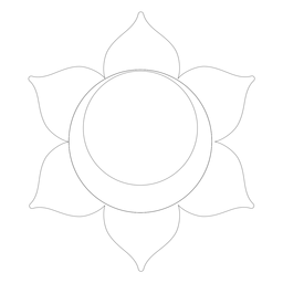 Icono de chakra svadhishthana