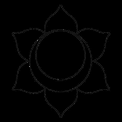 Chakra svadhishthana icon Transparent PNG