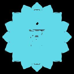 Icono de Chakra Vishuddha