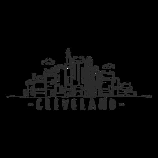 Cleveland hall da fama torre rock n roll museu monumento céu raspador shopping centro de negócios nuvem skyline adesivo Transparent PNG
