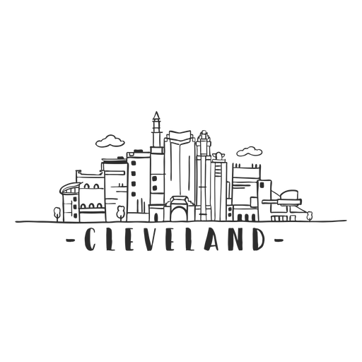 Cleveland hall of fame tower rock n roll museum monument sky scraper mall business center cloud skyline sticker Transparent PNG