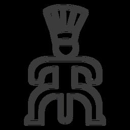 Curso de fertilidade do falo da postura da coroa