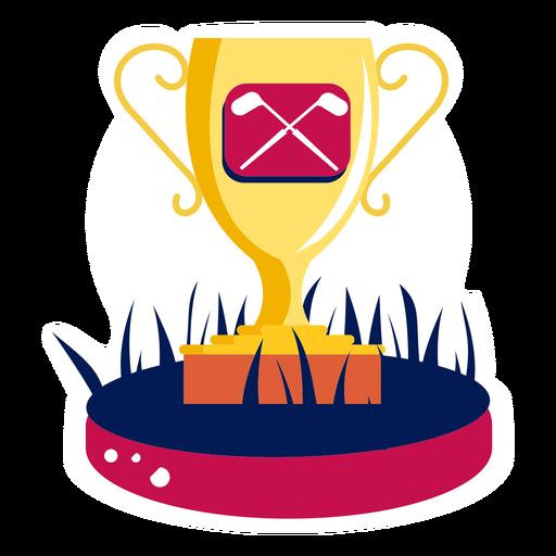 Clube de golfe campeão da vitória da copa campo de golfe campo dourado Transparent PNG