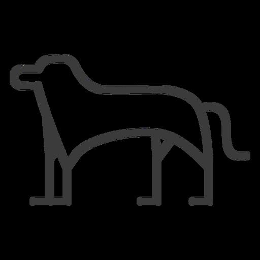 Hund Tier Bein Schwanz Göttlichkeit Schlaganfall Transparent PNG