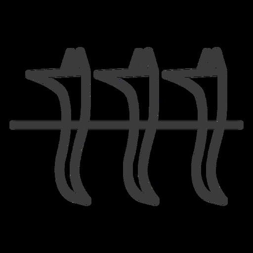 Hund Anubis Göttlichkeit drei Schlaganfall Transparent PNG