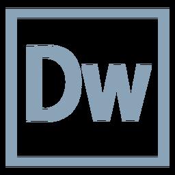 Ícone do Dreamweaver dw