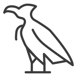 Ala de águila pico pico halcón