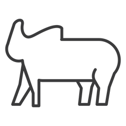 Elephant trunk fat ear divinity stroke