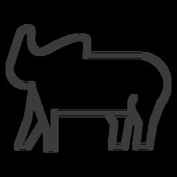 Tronco de elefante gordo oreja divinidad trazo