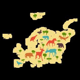 Ilustração da Europa