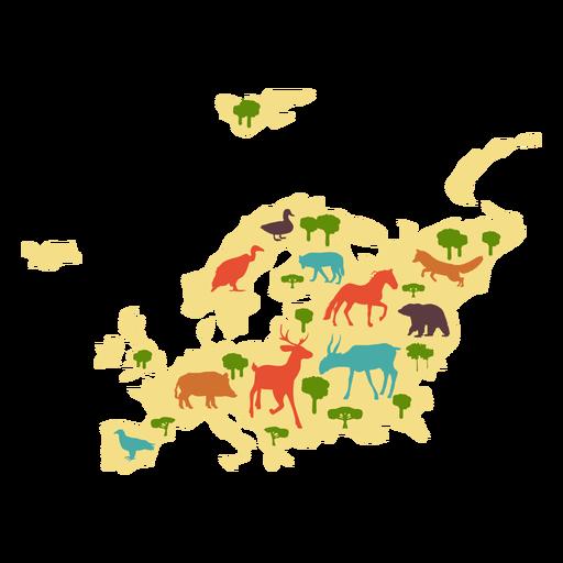 Europe illustration Transparent PNG