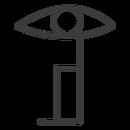 Pupila ocular pupila del ictus