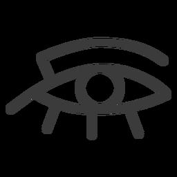 Eye ra sol deus sol deus amuleto faraó golpe