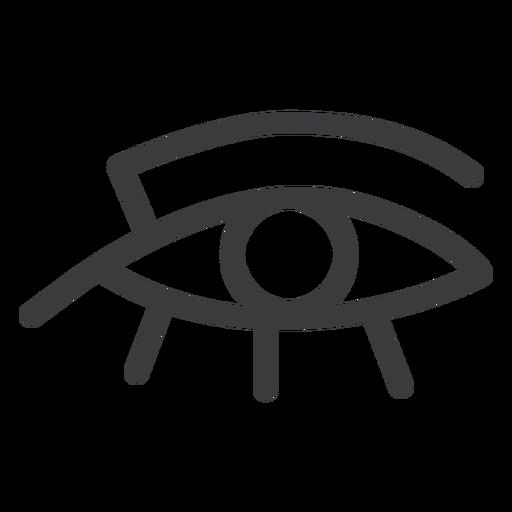 Eye ra sun god sun god amulet pharaoh stroke Transparent PNG