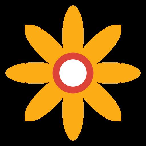 Flor pétala camomila aster plana Transparent PNG