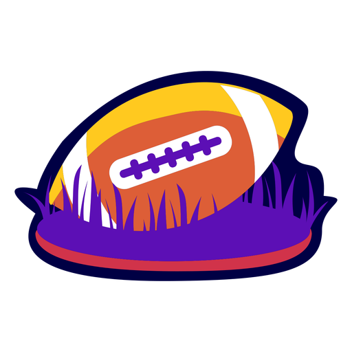 Bola de distintivo de futebol plana Transparent PNG