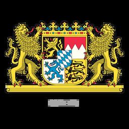 German province bayern crest