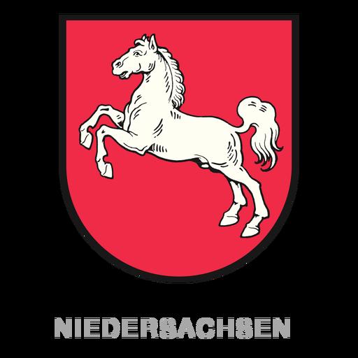 German state niedersachsen crest Transparent PNG