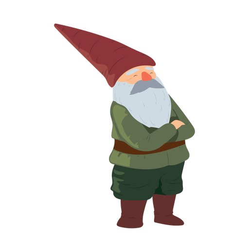 Christmas Gnome Svg.Gnome Bearded Man Beard Hat Illustration Transparent Png
