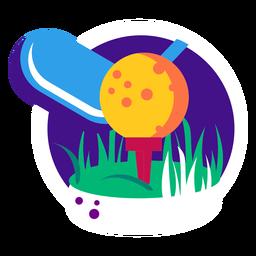 Club de golf pelota de hierba campo de golf campo césped