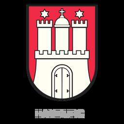 Cresta del estado de Hamburgo