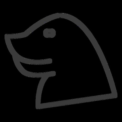 Kopf Göttlichkeit Schnabel Adler Schlaganfall Transparent PNG