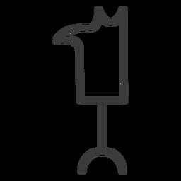 Head dog wand staff stroke