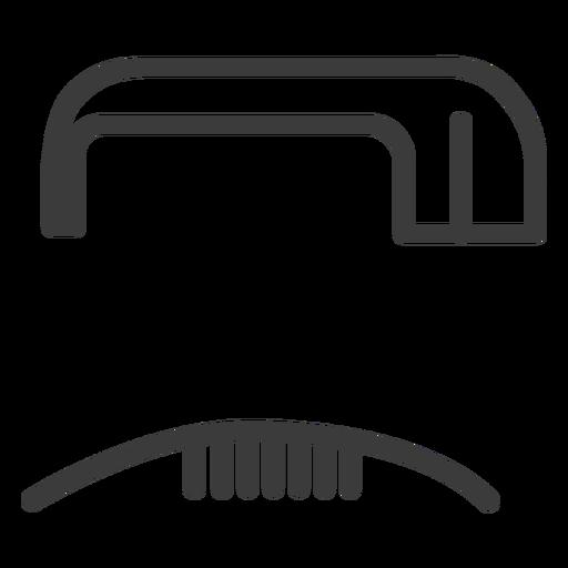 Hieróglifo sinal figura imagem acidente vascular cerebral Transparent PNG